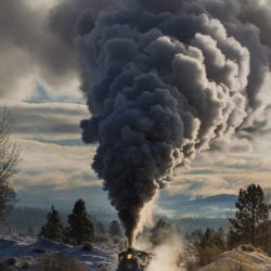 Photo charter on the Sumpter Valley Railroad with Heisler no. 3 and 2-8-2 no. 19.