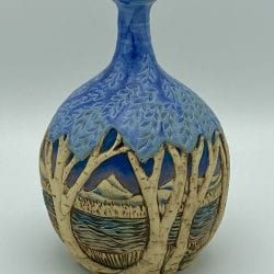 Cummings-Birch-Cynthia-Blue Vase