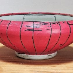 David-Ernster-Porcelain-bowl-with-red-terra-sig-and-drawing-2.5x7x71