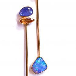 Kalled-Jennifer-opal-tanzanite-earring-natural-topaz-gold-kalled-kasso
