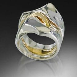 Marble-Cynthia and Nugent-David-R711-14K-Gold-and-Sterling-Silver