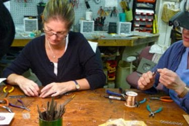 Art classes at the League of NH Craftsmen in Nashua.