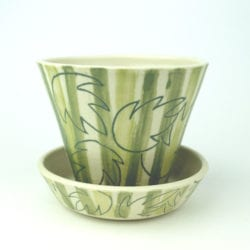 l.rollason_-green-stripes-with-leaf-inlay-plantpot-and-tray