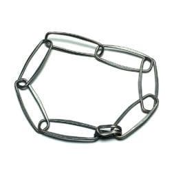 Window Hand Forged Chain Bracelet